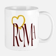 ROMA,HEART Mugs