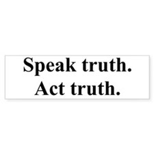 Truth Bumper Bumper Sticker