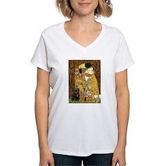 The Kiss / Black Pug Shirt