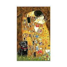 The Kiss / Black Pug Decal