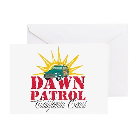 Dawn Patrol CA Greeting Cards (Pk of 20)