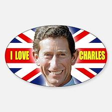 Unique Royal family Sticker (Oval)
