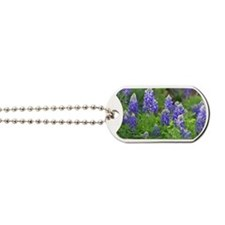 Cute Bluebonnet Dog Tags