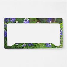 Cute Wildflowers License Plate Holder
