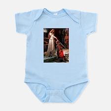 The Accolade / Black Pug Infant Bodysuit
