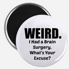 Weird - Brain Surgery Magnet Magnets