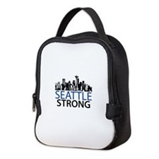 Seattle Strong - Skyline Neoprene Lunch Bag