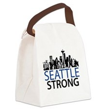 Seattle Strong - Skyline Canvas Lunch Bag