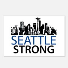 Seattle Strong - Skyline Postcards (Package of 8)