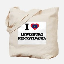 I love Lewisburg Pennsylvania Tote Bag