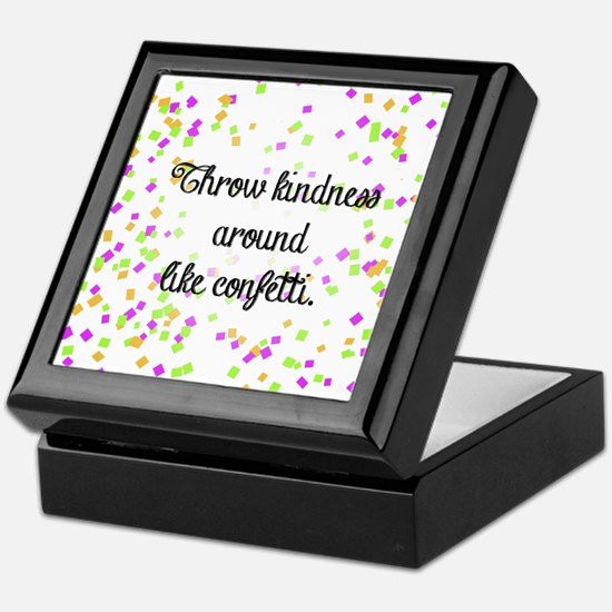 Confetti kindness Keepsake Box