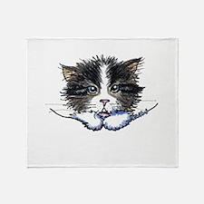 Pocket Kitten Throw Blanket