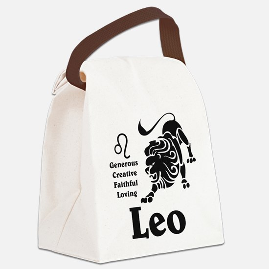 LeoLIGHTFRONT Canvas Lunch Bag