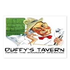 DUFFY'S TAVERN - OLD TIME Postcards (Package of 8)