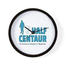 Half Centaur Wall Clock