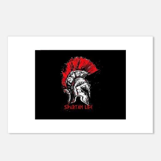 Spartan Helmet, Spartan l Postcards (Package of 8)