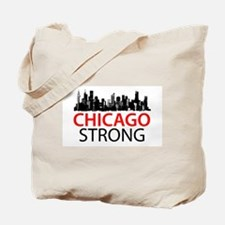 Chicago Strong - Skyline Tote Bag