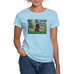Bridge / Black Pug Women's Light T-Shirt
