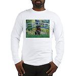 Bridge / Black Pug Long Sleeve T-Shirt