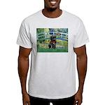 Bridge / Black Pug Light T-Shirt