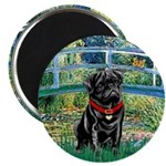 Bridge / Black Pug Magnet