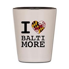 Cute Baltimore Shot Glass