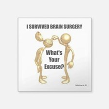 I Survived Brain Surgery Sticker