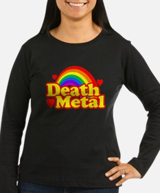 Funny Death Metal Rainbow (vintage distressed look