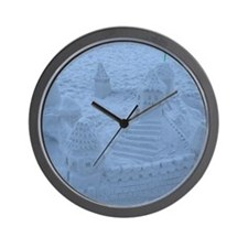 Castles in the Sand Wall Clock