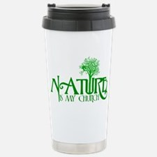 Nature is my Church Stainless Steel Travel Mug