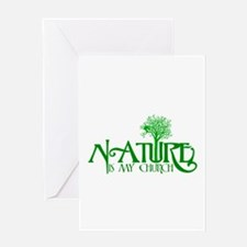 Nature is my Church Greeting Card