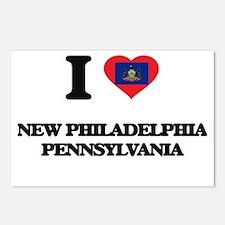 I love New Philadelphia P Postcards (Package of 8)