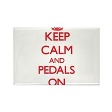 Keep Calm and Pedals ON Magnets