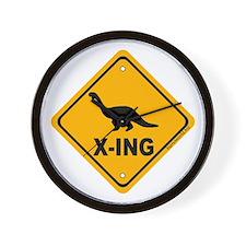 Dino4 X-ing Wall Clock