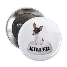 Killer Toy Fox Terrier Button