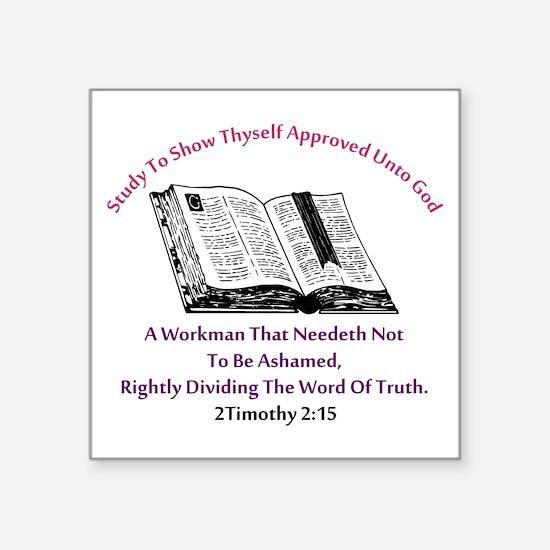 2timothy 2:15 Sticker