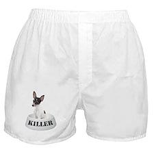 Killer Toy Fox Terrier Boxer Shorts