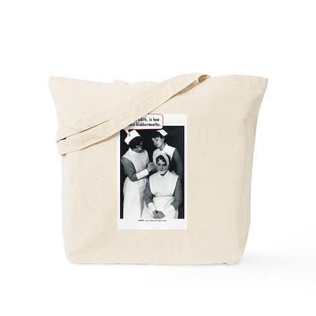 Nurse Blabbermouth Cure Tote Bag