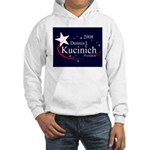 DENNIS KUCINICH PRESIDENT 2008 Hooded Sweatshirt