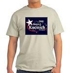 DENNIS KUCINICH PRESIDENT 2008 Ash Grey T-Shirt