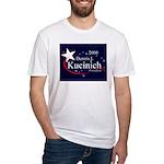 DENNIS KUCINICH PRESIDENT 2008 Fitted T-Shirt