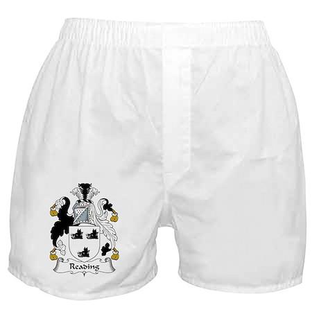Reading Family Crest Boxer Shorts