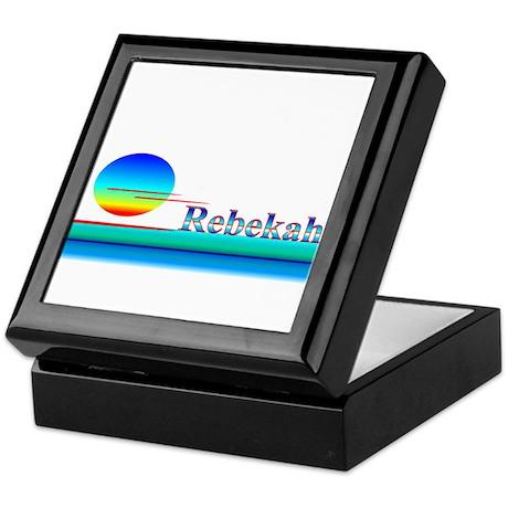 Rebekah Keepsake Box