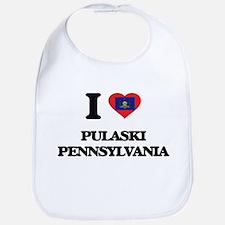 I love Pulaski Pennsylvania Bib