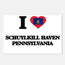 I love Schuylkill Haven P Postcards (Package of 8)