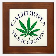 California Home Grown Framed Tile