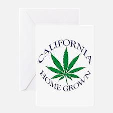 California Home Grown Greeting Card