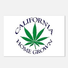 California Home Grown Postcards (Package of 8)
