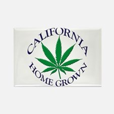 California Home Grown Rectangle Magnet (10 pack)