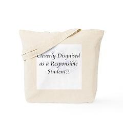 Responsible Student Tote Bag